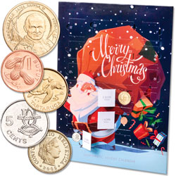 World Coins - Santa Advent Calendar