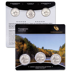 2018 Voyageurs National Park Quarter Set
