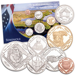 2019 Jamul Indian Coin Set - Seminole
