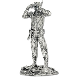 4 oz. Sterling Silver Captain Troy Statue