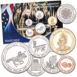 2019 Jamul Indian Coin Set - Natchez Tribe