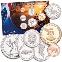 2019 Jamul Indian Coin Set - Mohawk