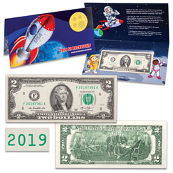 """2019"" $2 Rocketship Note"