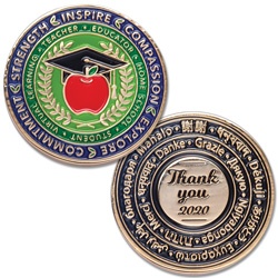 Educator Challenge Coin