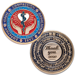 Healthcare Worker Challenge Coin
