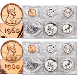 1960 Small & Large Date Proof Sets