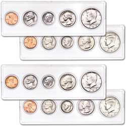 1982 & 1983 P&D Uncirculated Year Sets