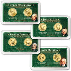 2007 P&D Presidential Dollar Showpaks