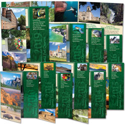 2010-2019 All Ten National Park Quarter Folders