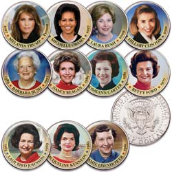 First Spouse Coin Set with Folder