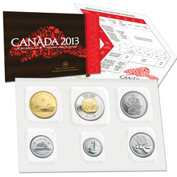 2013 Canada Uncirculated Set