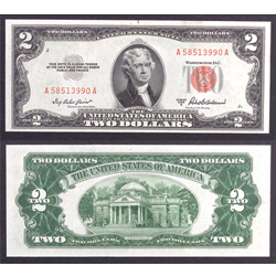 1953A $2 Legal Tender Note