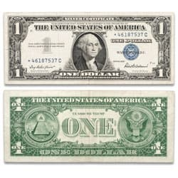 1957 $1 Silver Certificate, Star Note