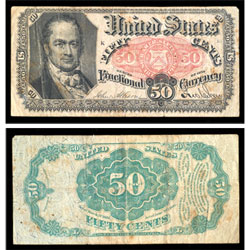 1862-1876 50¢ Fractional Currency