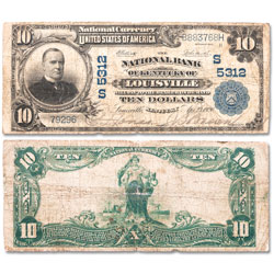 1902 $10 National Bank Note