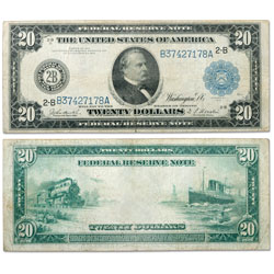 Series 1914 $20 Large-Size Federal Reserve Note