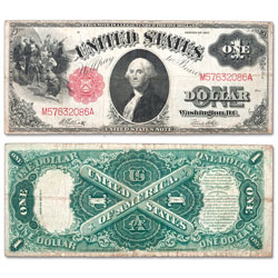 Series 1917 $1 Legal Tender Note