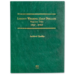 1937-1947 Liberty Walking Half Dollar Folder