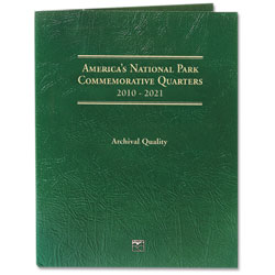 2010-2021 America's National Park Quarter Series Classic Folder