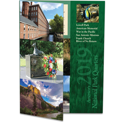 2019 America's National Park Quarter Series Colorful Folder