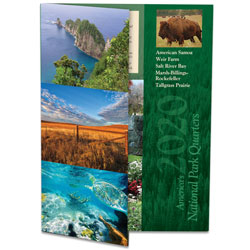 2020 America's National Park Quarter Series Colorful Folder