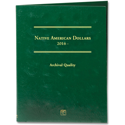2016-Date Native American Dollar Folder