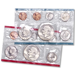 1973 U.S. Mint Set (13 coins), Uncirculated