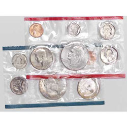 1976 U.S. Mint Set (12 coins), Uncirculated