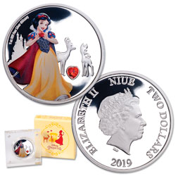 2019 Niue Silver $2 Snow White
