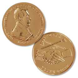 Gold-Plated Andrew Jackson Medal