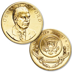 Gold-Plated Gerald R. Ford Medal