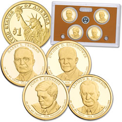 2015-S U.S. Mint Presidential Dollar Proof Set