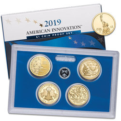 2019-S U.S. Mint American Innovation Dollar Proof Set