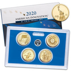 2020-S U.S. Mint American Innovation Dollar Proof Set
