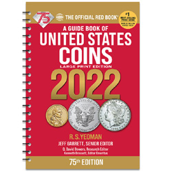 2022 Red Book - Guide Book of U.S. Coins (Large Print Softcover)