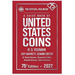 2022 Red Book - Guide Book of U.S. Coins (Hardcover)
