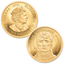 2021 Napoleon 200th Anniversary .5 gram Gold 2 Pounds