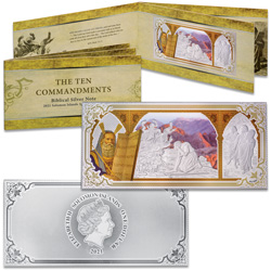 2021 Solomon Islands Silver Ten Commandments