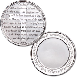1 oz. Lord's Prayer Silver Round