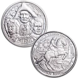 2019 Patriot 1 oz. Silver Round