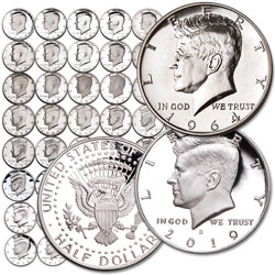 1964-2019 Proof Kennedy Half Dollar Set