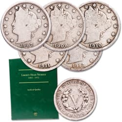 1899-1912 Liberty Head Nickel Set