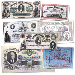 Bank Notes That Made History Replica Set
