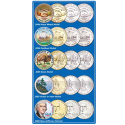 2004-2006 Ultimate Nickel Set, Uncirculated