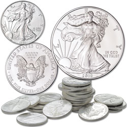 1986-2019 American Eagle Silver Dollar Set