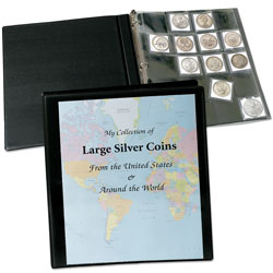 Deluxe Coin Pages with View Binder (includes 100 SAFLIPS holders)