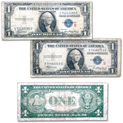 "1935A ""R"" & ""S"" $1 Silver Certificate Test Set"