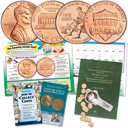 Lincoln Cent Collecting Kit (20 coins)