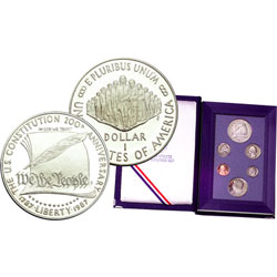 1987-S U.S. Mint Prestige Proof Set