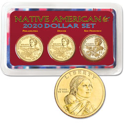 2020 PDS Native American Dollar Showpak